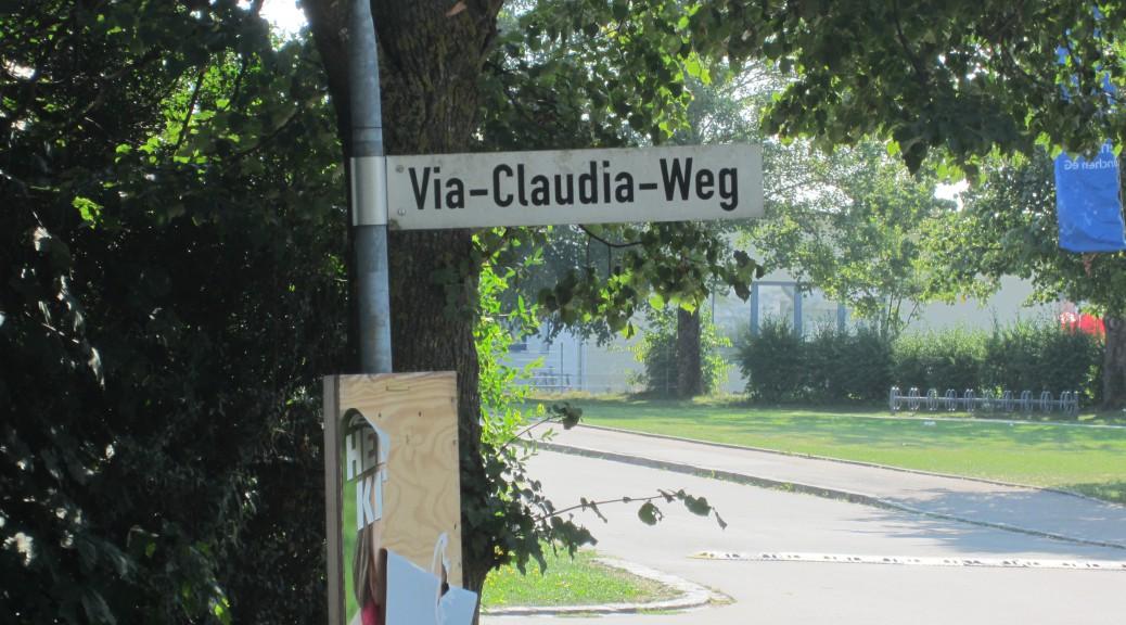 Ein kleiner Wegweiser zur Via Claudia Augusta